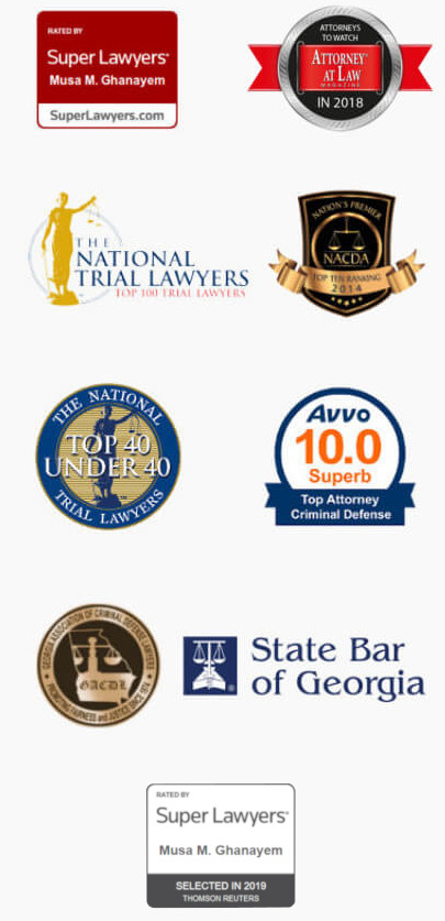 accolades super lawyers, national trial lawyers, top 40 under 40, avvo 10.0